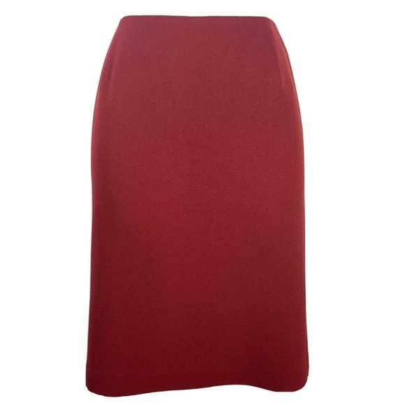 Casual Corner Dresses & Skirts - Casual Corner Annex Skirt 10 Red Pencil Career FF